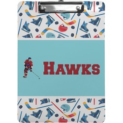 Hockey 2 Clipboard (Personalized)