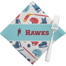 Hockey 2 Napkins (Set of 4) (Personalized)