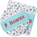 Hockey 2 Rubber Backed Coaster (Personalized)