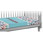 Hockey 2 Crib Fitted Sheet (Personalized)