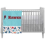 Hockey 2 Crib Comforter / Quilt (Personalized)