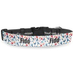 Hockey 2 Deluxe Dog Collar (Personalized)