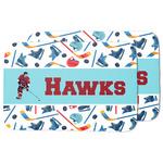 Hockey 2 Dish Drying Mat (Personalized)