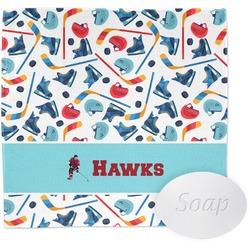 Hockey 2 Wash Cloth (Personalized)