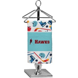 Hockey 2 Finger Tip Towel - Full Print (Personalized)
