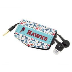 Hockey 2 Genuine Leather Cord Wrap (Personalized)