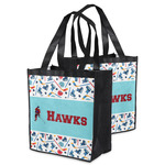 Hockey 2 Grocery Bag (Personalized)