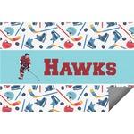 Hockey 2 Indoor / Outdoor Rug (Personalized)