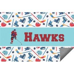 Hockey 2 Indoor / Outdoor Rug - 8'x10' (Personalized)