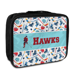 Hockey 2 Insulated Lunch Bag (Personalized)