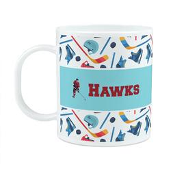 Hockey 2 Plastic Kids Mug (Personalized)