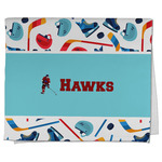 Hockey 2 Kitchen Towel - Full Print (Personalized)