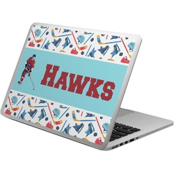 Hockey 2 Laptop Skin - Custom Sized (Personalized)