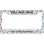 Hockey 2 License Plate Frame (Personalized)