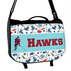Hockey 2 Messenger Bag (Personalized)