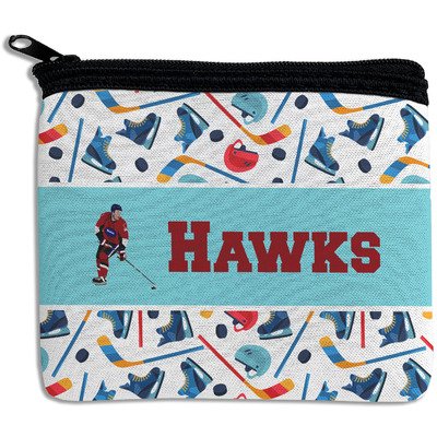 Hockey 2 Rectangular Coin Purse (Personalized)