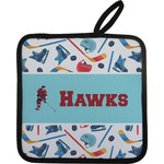 Hockey 2 Pot Holder (Personalized)