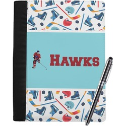 Hockey 2 Notebook Padfolio (Personalized)