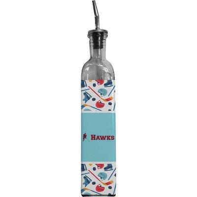 Hockey 2 Oil Dispenser Bottle (Personalized)