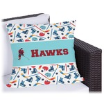 Hockey 2 Outdoor Pillow (Personalized)