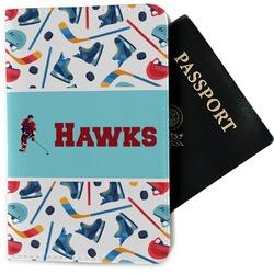 Hockey 2 Passport Holder - Fabric (Personalized)