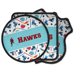 Hockey 2 Iron on Patches (Personalized)