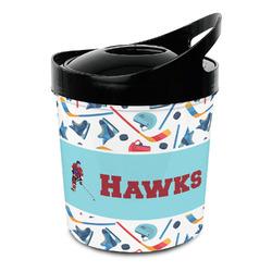 Hockey 2 Plastic Ice Bucket (Personalized)