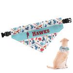 Hockey 2 Dog Bandana (Personalized)