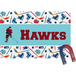 Hockey 2 Rectangular Fridge Magnet (Personalized)