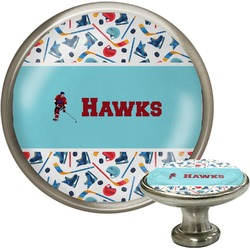 Hockey 2 Cabinet Knobs (Personalized)