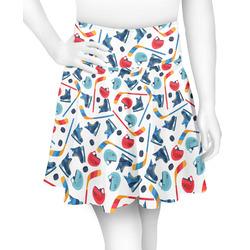 Hockey 2 Skater Skirt (Personalized)