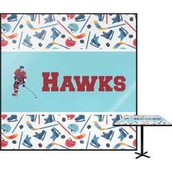 Hockey 2 Square Table Top (Personalized)