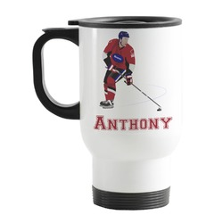 Hockey 2 Stainless Steel Travel Mug with Handle