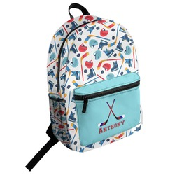 Hockey 2 Student Backpack (Personalized)
