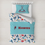 Hockey 2 Toddler Bedding w/ Name or Text