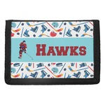 Hockey 2 Trifold Wallet (Personalized)