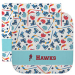 Hockey 2 Facecloth / Wash Cloth (Personalized)