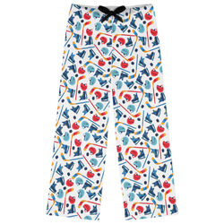 Hockey 2 Womens Pajama Pants (Personalized)