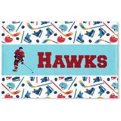 Hockey 2 Woven Mat (Personalized)