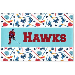 Hockey 2 Woven Mat (Personalized)