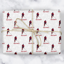 Hockey 2 Wrapping Paper (Personalized)