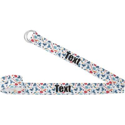 Hockey 2 Yoga Strap (Personalized)