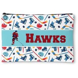 Hockey 2 Zipper Pouch (Personalized)