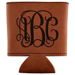 Interlocking Monogram Leatherette Can Sleeve (Personalized)