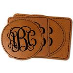 Interlocking Monogram Faux Leather Iron On Patch (Personalized)