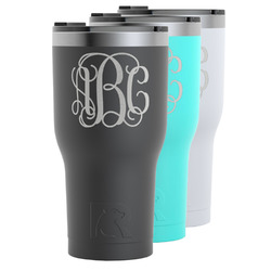 Interlocking Monogram RTIC Tumbler - 30 oz (Personalized)