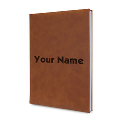Block Name Leatherette Journal (Personalized)