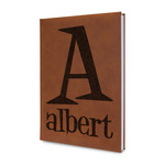 Name & Initial Leatherette Journal (Personalized)