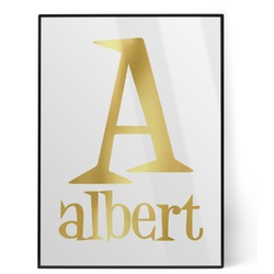 Name & Initial Foil Print (Personalized)