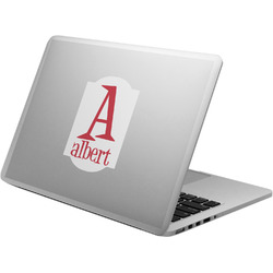 Name & Initial Laptop Decal (Personalized)